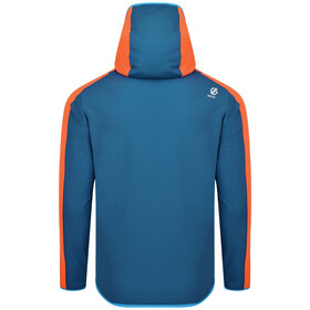 Dare 2b Appertain II Chaqueta Softshell Hombre, atlantic blue/blaze orange